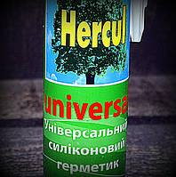 Hercul Универсальный герметик силикон прозрачный
