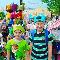 Детские валяные шапки Корпорация Монстров