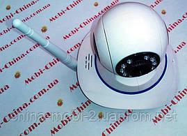 Керована поворотна камера 360* WiFi IP з сигналізацією P2P ІРС-05, нічне підсвічування відеоняня, фото 3
