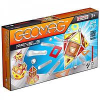Geomag Panels 104 детали  Магнитный конструктор Геомаг 3+