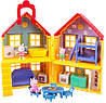 Переносной домик свинки Пеппы и 17 предметов, Peppa Pig Deluxe House, Оригинал из США!