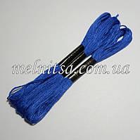 Нитки мулине  Interbird, цвет синий, 1 моток, 8 м