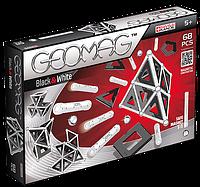 Geomag Panels бело-черный 68 деталей Магнитный конструктор Геомаг 5+