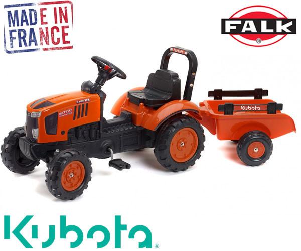Детский трактор на педалях Falk 2065AB KUBOTA M7171