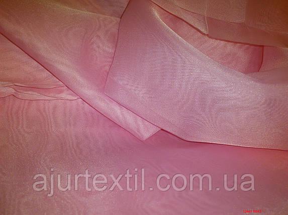 Вуаль однотонный (бледно розовый), фото 2
