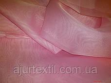 Вуаль однотонный (бледно розовый)