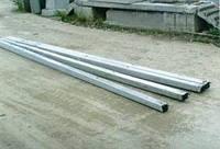 Столбы высоковольтной линии электропередач УСТ-3А