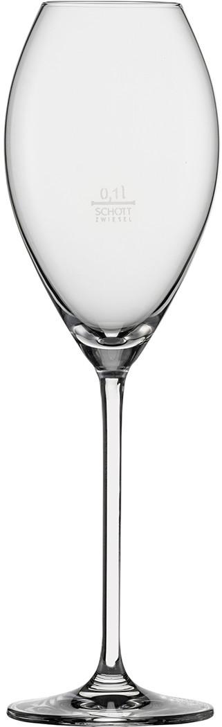 Бокал для шампанского TOPTEN 0,1l с градуировочной отметкой Schott Zwiesel Bar Special 110770
