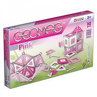 Geomag Panels розовый 142 детали Магнитный конструктор Геомаг 3+