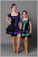 Платье для танцев латина«Шарлотка»