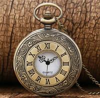 Винтажные карманные часы (4,5 см), фото 1
