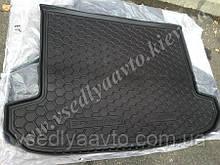 Коврик в багажник KIA Sportage IV с 2016 г. (AVTO-GUMM) полиуретан