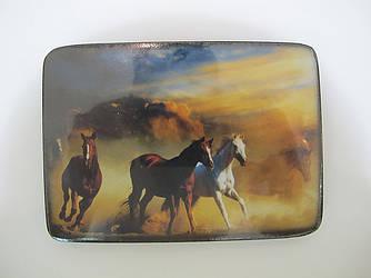 Картина на деревянной дощечке,лошадь,символ года,подарок