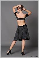 Сарафан для бальных танцев и тренировок «Горох»