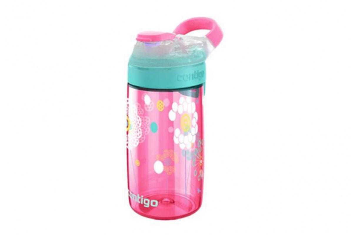 Детская бутылка для воды из пластика без вредных BPA компонентов Contigo Gizmo Sip 1000-0472