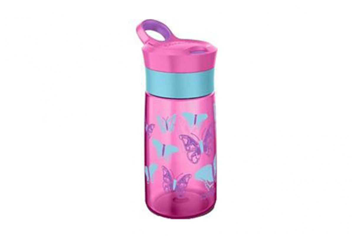 Детская бутылка для воды из пластика без вредных BPA компонентов Contigo Gracie 1000-0354