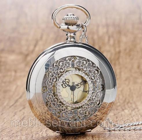 Мужские винтажные карманные часы (4,5 см)  - Servant-магазин мебели и подарков в Киеве