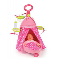Smoby Чемодан-кровать-стульчик для куклы Минни Маус Nursery Bag Minnie Mouse 24207