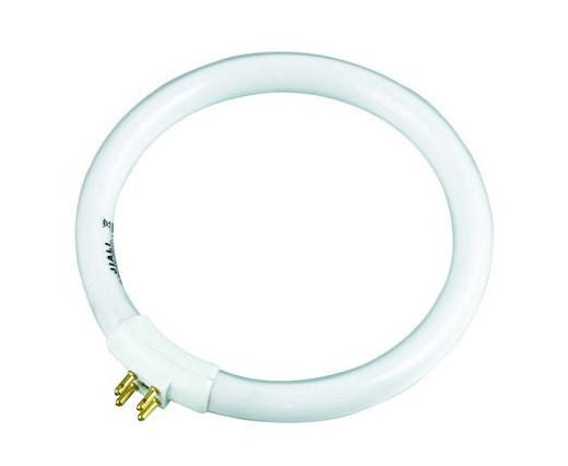 Лампа для лампы-лупы круглая T4 12W, фото 2