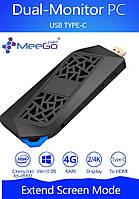 MeeGoPad T08 - флагманский PC stick, 4Gb RAM, Intel Atom x5-Z8350 1.92GHz, USB 3.1TYPE-C, Windows 10 64 bit