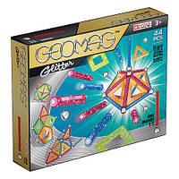 Geomag Color GLITTER 44 детали Магнитный конструктор Геомаг 3+