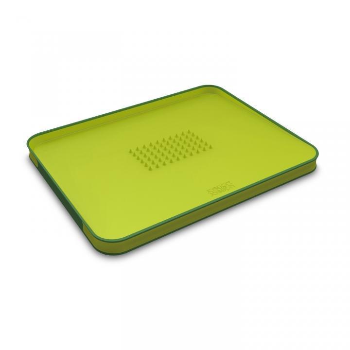 Доска разделочная 37,5x29,5x2,5 см, салатовая Joseph Joseph 60001