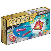 Geomag Color GLITTER 22 детали Магнитный конструктор Геомаг 3+