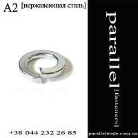 Шайба пружинная М4 DIN7980 нержавеющая сталь А2