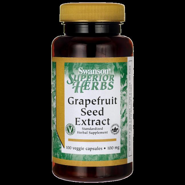 Экстракт Семян Грейпфрута, 100 капсул