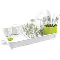 Cушилка для посуды со сливом Extend-Expandable Белая Joseph Joseph 85071, фото 1