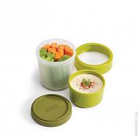 Емкость для хранения овощей GOEAT 240мл + 100 мл Joseph Joseph 81025