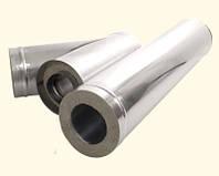 Труба термо из оцин. стали Ø100, длина 1,0 м