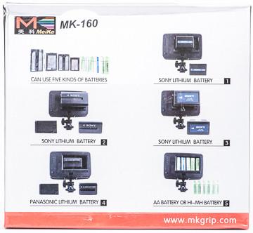 Накамерный свет Meike LED MK160 СУПЕР ЦЕНА!!!