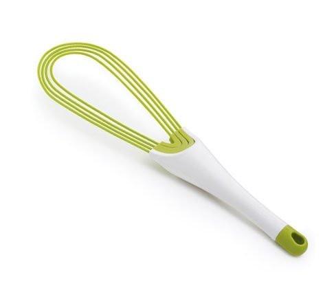 Венчик складной 2 в 1 Twist белый/зеленый Joseph Joseph 20071