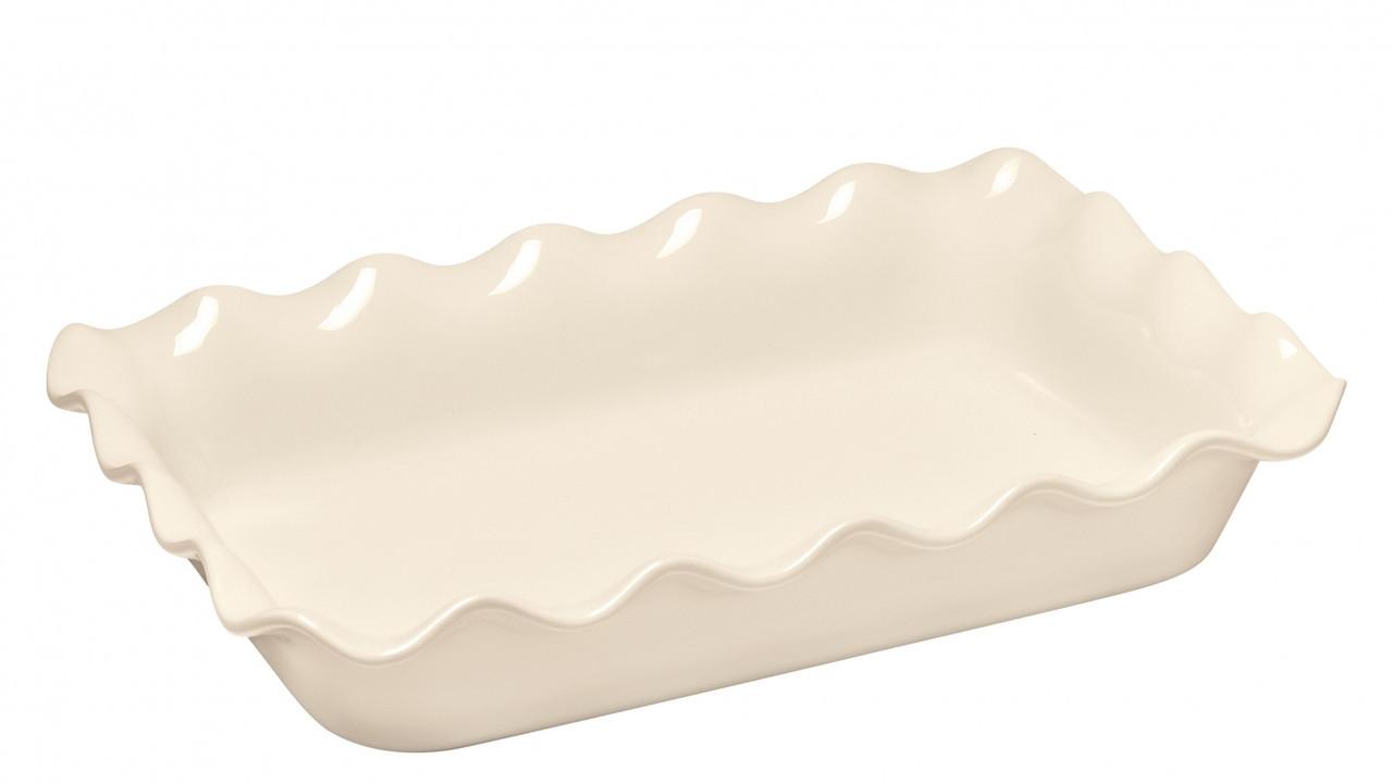 Форма для запекания прямоугольная волна 36x26см Emile Henry ARGILE 021987