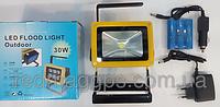 Портативный аккумуляторный прожектор 201 Led flood light Outdoor 30 W