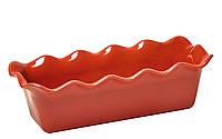 Форма для запекания прямоугольная/волна 32x15см Emile Henry BRIQUE 326387