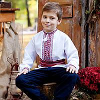 Вышиванки для мальчиков (домоткане полотно, ручная робота, 1-14 лет)