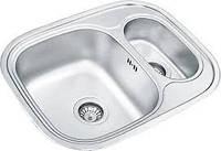 Кухонная мойка из нержавеющей стали Ukinox Galant GAP 628 488 15 GT 8K полированная