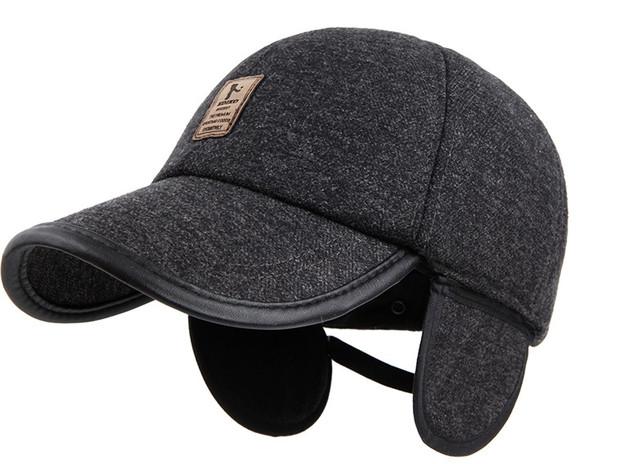 Бейсболки -кепки утепленные (осень-зима) 91668be1f99f2