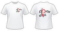 Печать нанесение логотипа на футболках