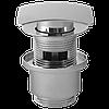 Пробка - сифон Click Clack с переливом (квадратный)