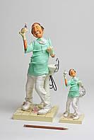 Коллекционная статуэтка Стоматолог Forchino, ручная работа