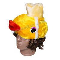 Карнавальная шапка Золотая рыбка