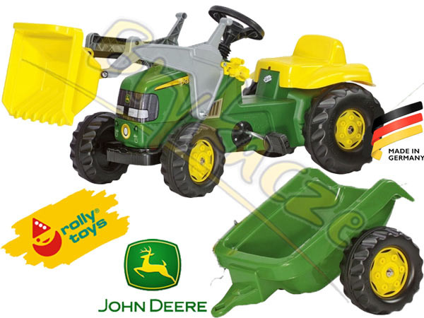 Трактор с прицепом Rolly toys Rolly kid 023110
