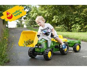 Трактор с прицепом Rolly toys Rolly kid 023110, фото 2