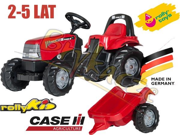 Трактор с прицепом Rolly toys 012411