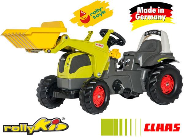 Трактор педальный зеленый  025077 ROLLY TOYS