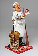 Коллекционная статуэтка Пекарь Forchino, ручная работа FO-85539, фото 1