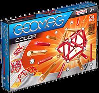 Geomag Color 64 детали Магнитный конструктор Геомаг 3+